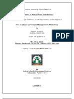 Hdfc Amc Project Report Final