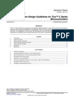 System Design Guidelines