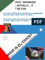 EL Civics - Not EL Civics