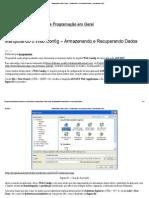 Manipulando o Web.config – Armazenando e Recuperando Dados _ Programando