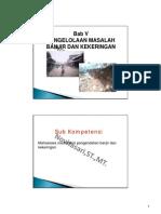 Presentasi Psda Bab v Banjir Dan Kekeringan