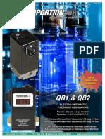 Proportion air flow controller manual