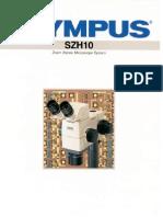 Olympus Szh10 Brochure
