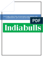 Factors affecting Investmeent Decisions and Competetive Advantage