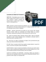 Glossário de Termos de Fotografia