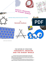 Tensegrity and Weaving
