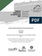 Capitalizacion en Cooperativas de Servicios Publicos.cuesta Vega.face