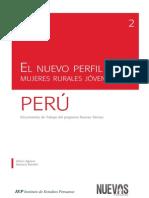 2. El Nuevo Perfil de Las Mujeres Rurales Jovenes en El Perú
