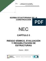 Nec Cap3 Riesgo Sismico Evaluacion Rehabilitacion de Estructuras