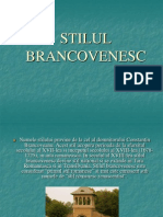 STILUL BRANCOVENESC