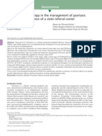 Anti-TNFα therapy in the management of psoriasis
