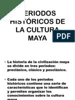 Perido Historico de Los Mayas