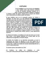 Informe de Acetileno