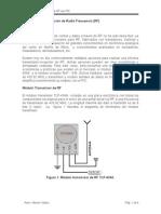 Modulos RF 433MHz con PBP