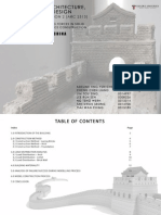 Understanding Forces In Solid Structure (Great Wall of China)