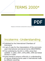 Incoterms Power Point Presentation