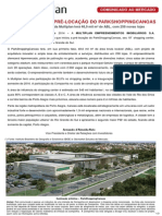 Multiplan anuncia a pr?-loca??o do ParkShoppingCanoas