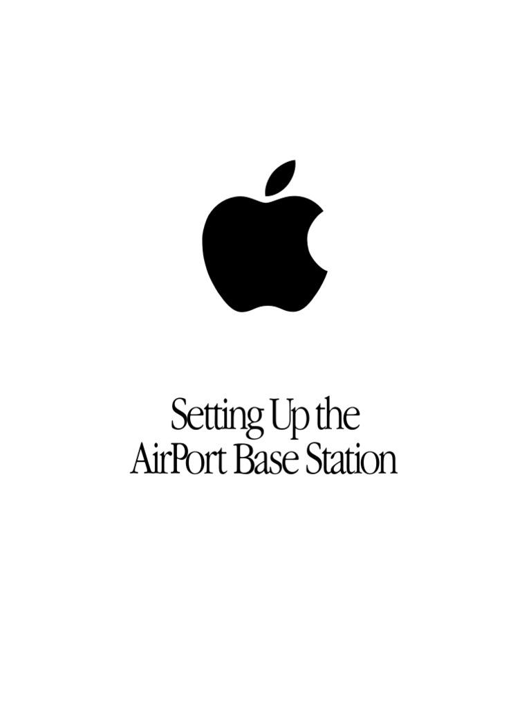 Apple Airport Graphite Installation/User Manual (Rev. 2