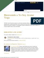 Bienvenido a YO SOY Avatar Yoga _ Fundación Hijos Del Sol