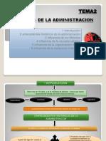 2.-Origines de La Administracion