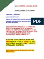 Datos Bancarios (New)