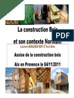 Construction Bois Contexte Normatif