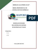 Manual Mapcrojf