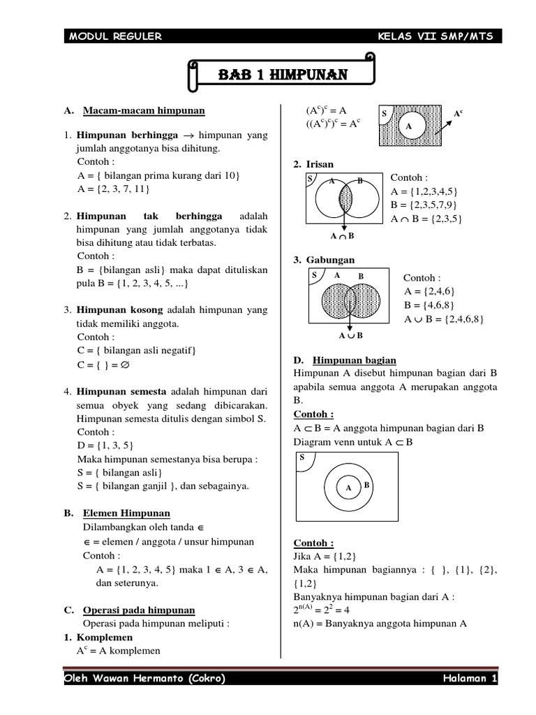 Modul kelas 7 kurikulum 2013 ccuart Image collections