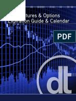 Futures Options Expiration Guide Calendar 2010