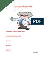 Mis Veinte Científicos