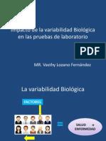 Impacto variabilidad Biológica