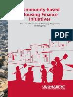 Community-Based Housing Finance Initiatives