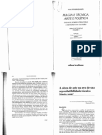 Magia e Técnica Arte e Política _Walter _Benjamin