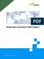 Ssv Report Pagmm