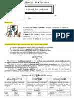 A Classe Dos Adjetivos - Ficha de Trabalho - 5º Ano (2)