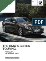 Bmw 5s Touring f11 Lci Pt April14