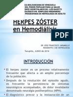 herpes zoster en hemodialisis.ppt