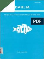 Aspectos Reproductivos de La Sabaleta Revista Dahlia de Ictiologia Vol 4 2001