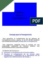 Presentación Consejo Para La Transparencia