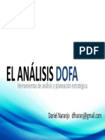 El Analisis FODA