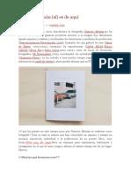 """Entrevista a Gustavo Alemán en """"a sangre Blog"""""""