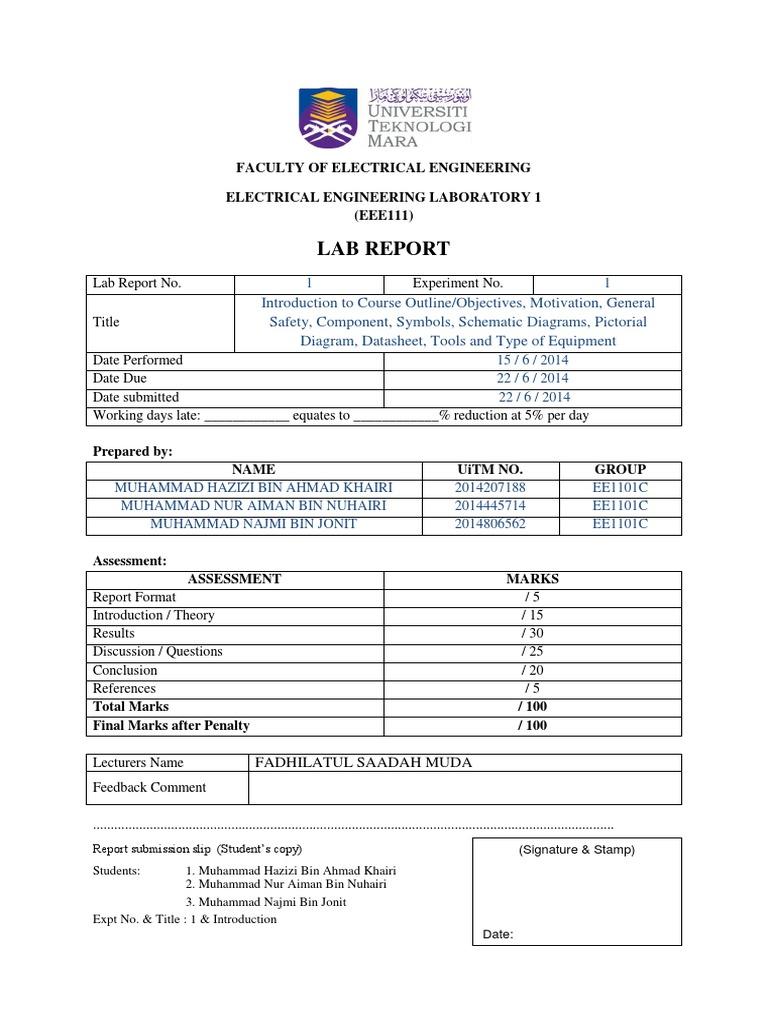 Lab report eee111 exp 1 power supply electrical engineering biocorpaavc Gallery