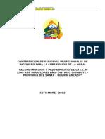 Bases - Edificacion Supervision - Silva