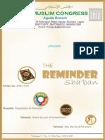 The Reminder (Sha'ban 1435)