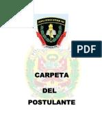 Carpeta de Postulante a La Ets-pnp 2014-i