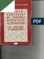 Maria Eliza Dulamă, Modele, Strategii Şi Tehnici Didactice Activizante 1