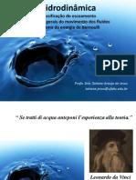 Aula 3 - Hidrodinâmica - Classificação Do Escoamento e Teorema de Bernoulli