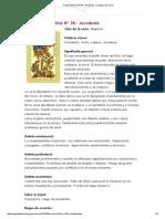 Oraculo Belline Nº 38 - Accidente _ La Magia Del Tarot