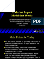 A Market Impact Model That Works--(Northfield Information Services, Inc.)