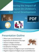 exploring the impact of religion on childrens development